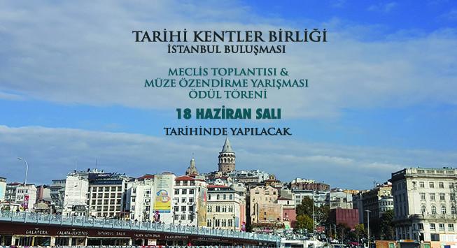 Tarihi Kentler Birliği İstanbul Buluşması