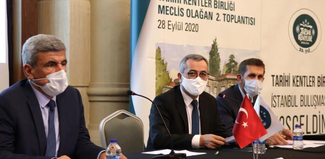 Tarihi Kentler İstanbul'da Toplandı