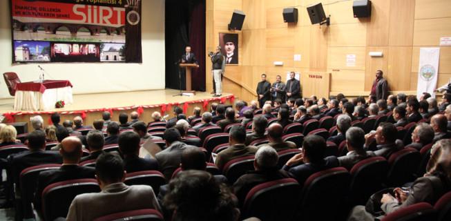 Tarihi Kentler Birliği'nin 4. Bölge Toplantısı Siirt'te yapıldı