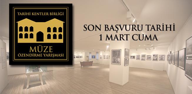Müze Özendirme Yarışması Başvuruları 1 Mart'ta Son!