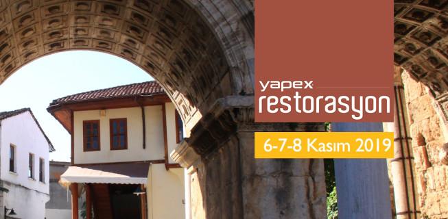 YAPEX Restorasyon Fuarı Programı Belli Oldu